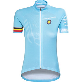Bioracer Van Vlaanderen Pro Race Maillot de cyclisme Femme, blue